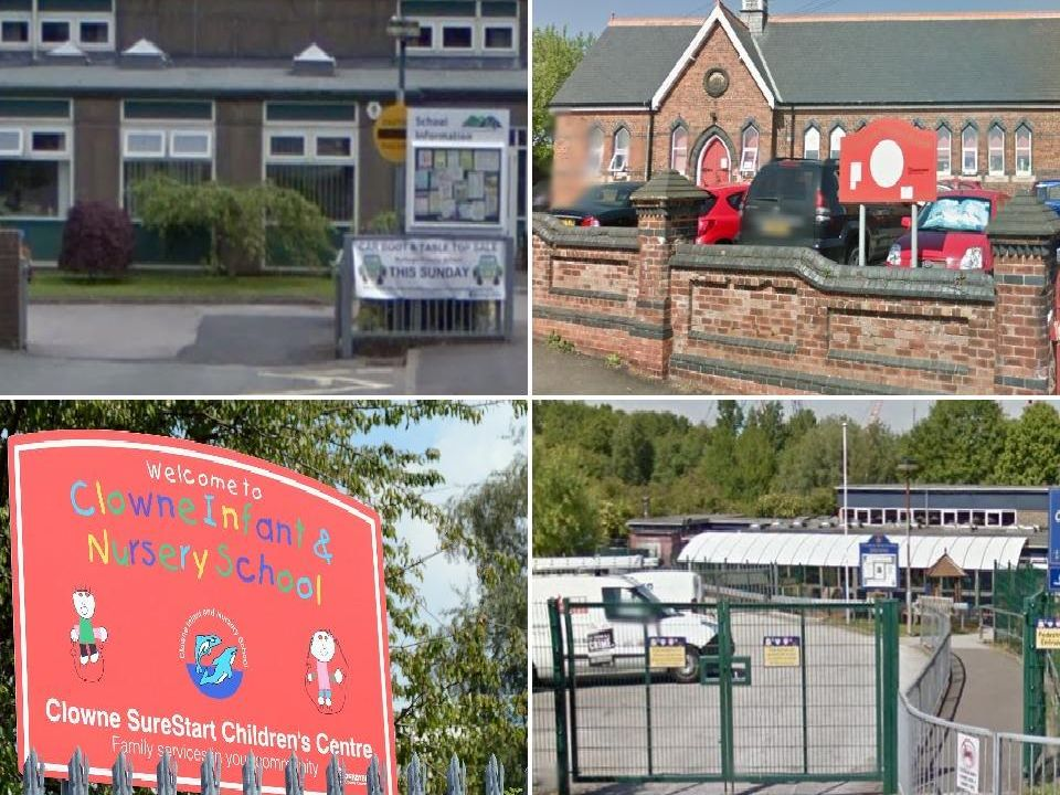 Oversubscribed schools in Derbyshire