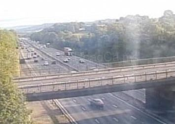 Rush-hour commuters are warned of breakdown on M1 near Chesterfield/Mansfield junction