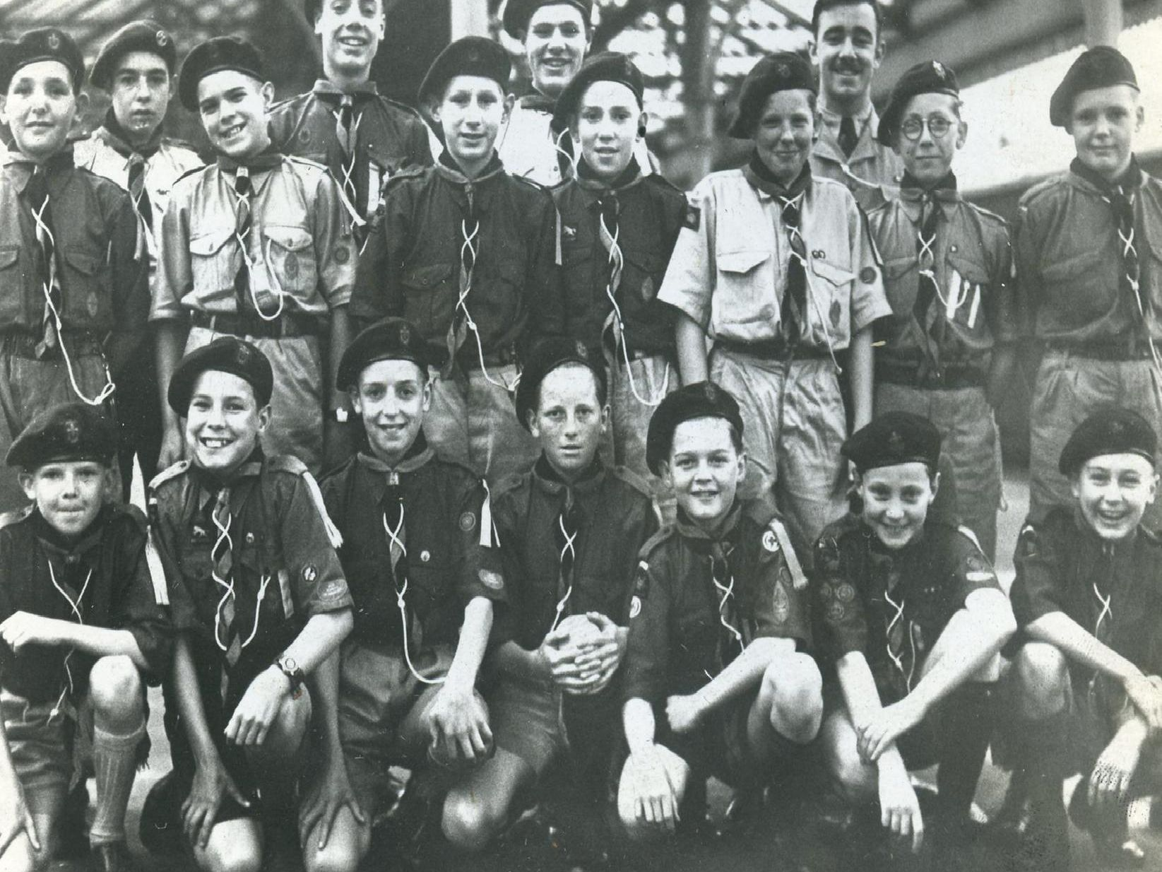 One of the oldest photos, taken on August 8 1958, shows a group of scouts from 27th Blackpool South Shore Baptist, pictured at the start of their journey to Ulster.'The excitement on their faces is obvious, they look eager to get on the train to start the trip.