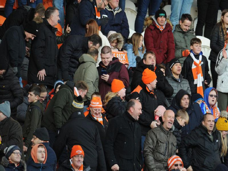 Were you among the 3,977 crowd at Bloomfield Road yesterday?
