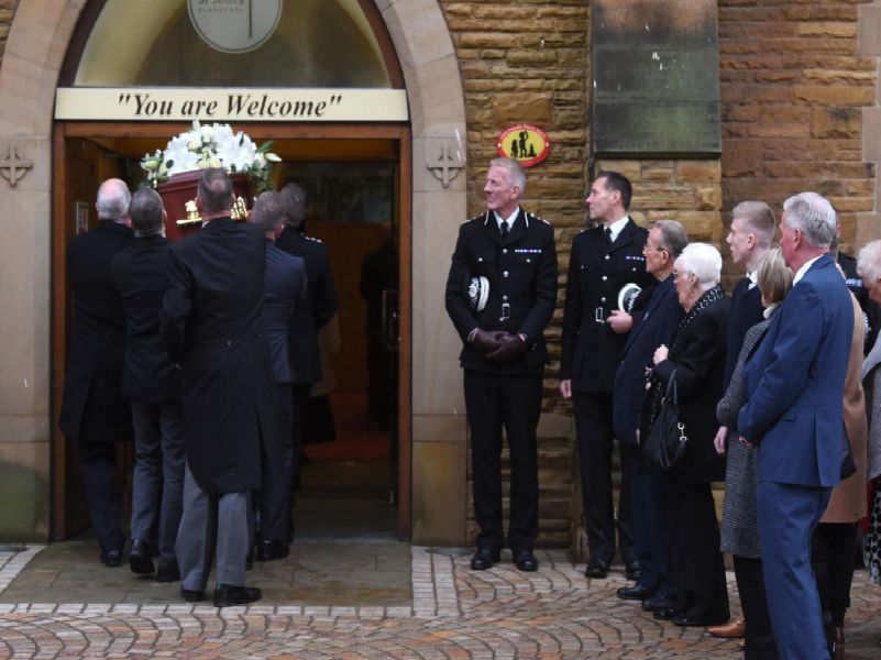 Top Lancashire Police officers pay respects to incredible Blackpool philanthropist Maureen Richardson