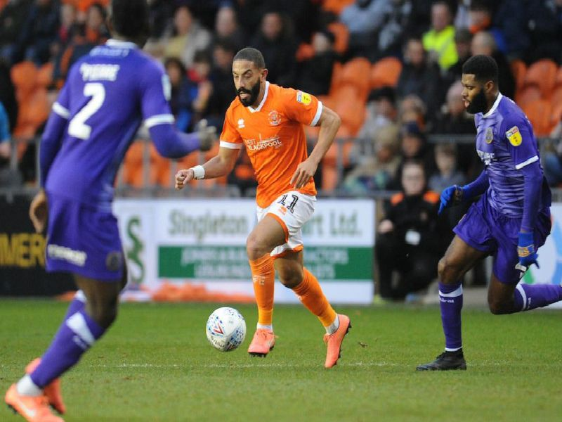 Liam Feeney was the most likely to make something happen for the Seasiders