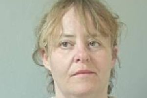 Tracey Partington, 41, of Hornby Road, Blackpool, has been jailed for more than two years after bombarding Lancashire Police staff with thousands of abusive and threatening messages. Pic: Lancashire Police