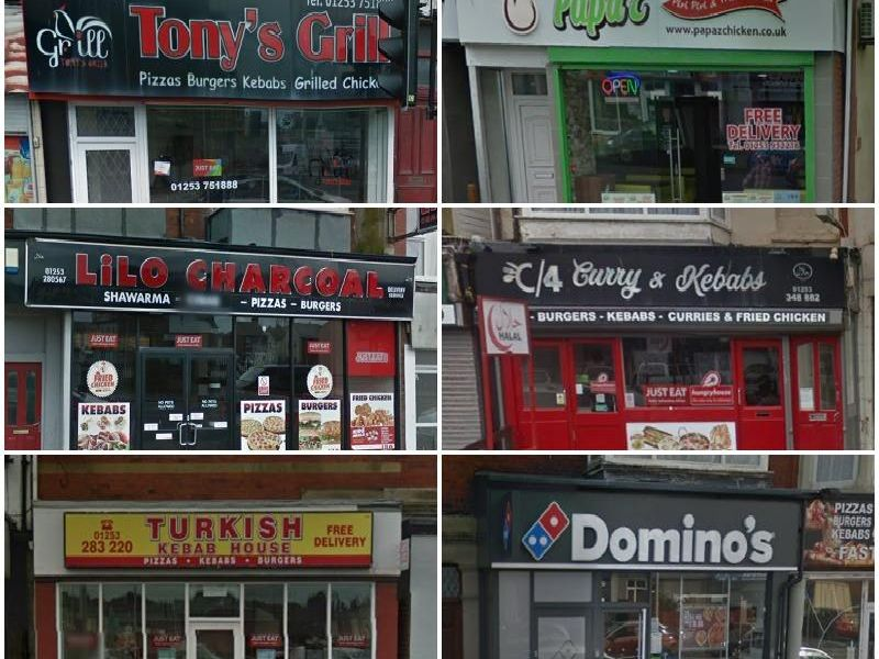 These are the 17 best takeaways that deliver in Blackpool according to TripAdvisor