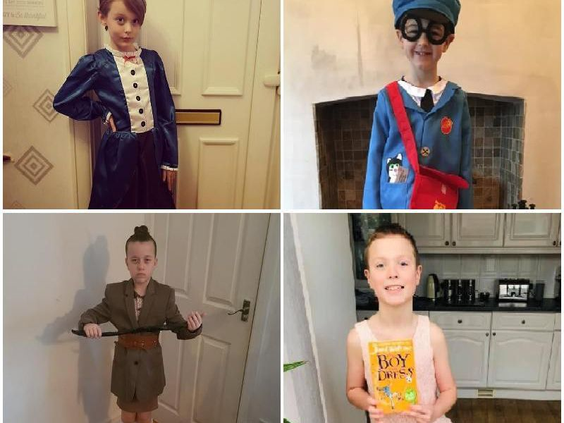 From Gangsta Granny, to Moaning Murtle and Postman Pat, here are your World Book Day 2019 pics