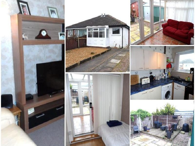 This two semi-detached bungalow in Blackpool is perfect for first-time buyers