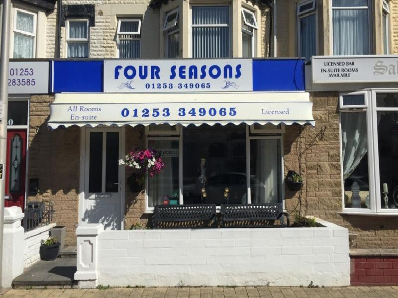 Newly refurbished guest house in Blackpool is on the market for 185,000