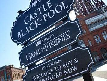 Blackpool has apparently been renamed 'Castle Black-Pool)