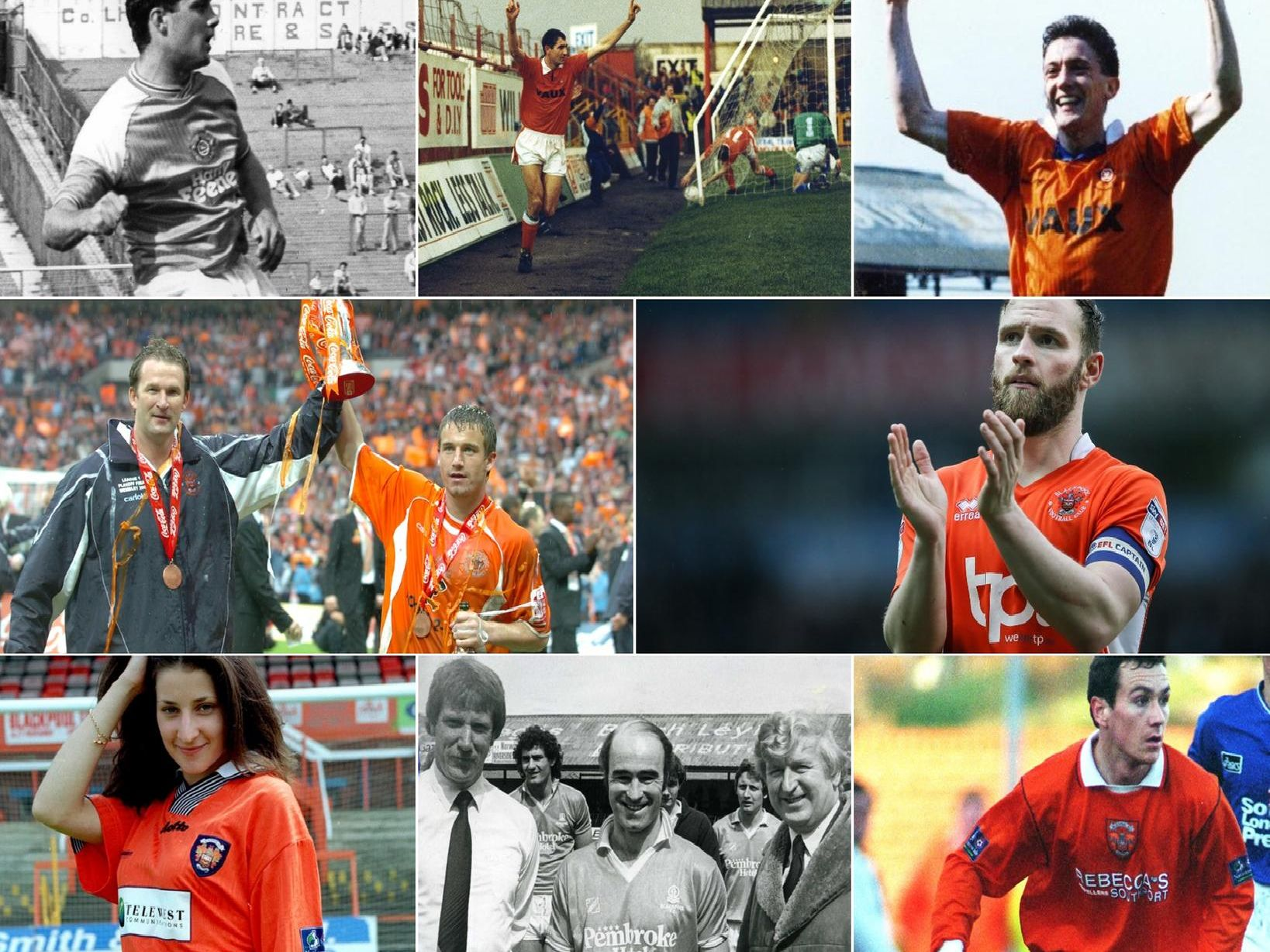 These are the 20 Blackpool FC shirt sponsors since 1979