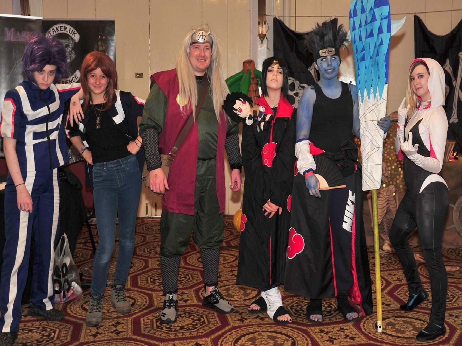 Come of the many cosplayers from the day.