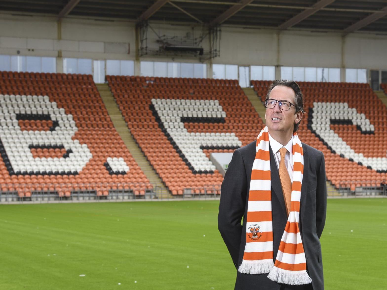 Simon Sadler was unveiled as the club's new owner earlier today