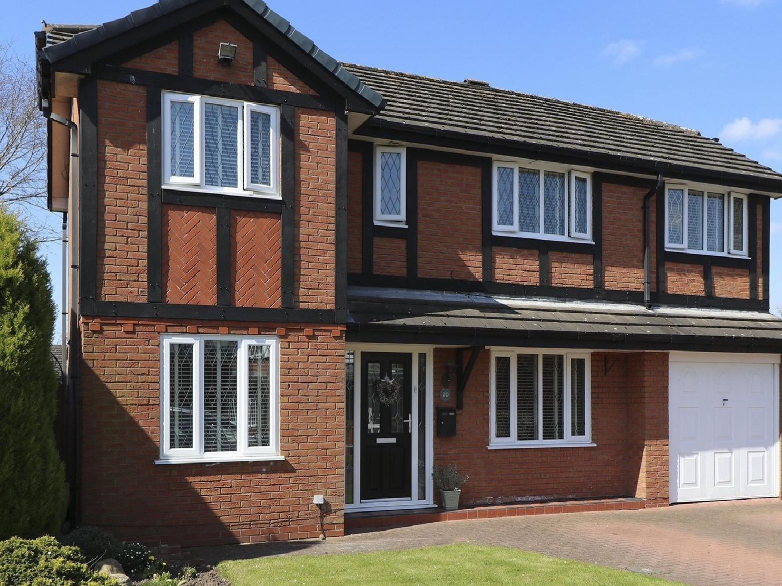 This modern four bedroom detached house in Freckleton Village is up for sale for 260,000