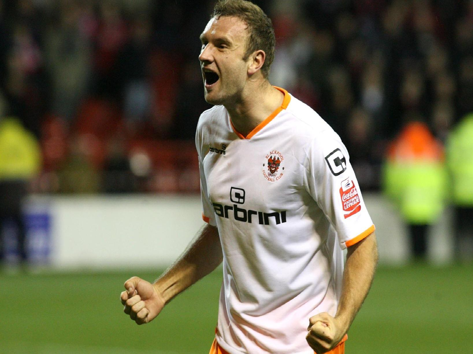 Evatt was a firm fans' favourite during his time at Bloomfield Road