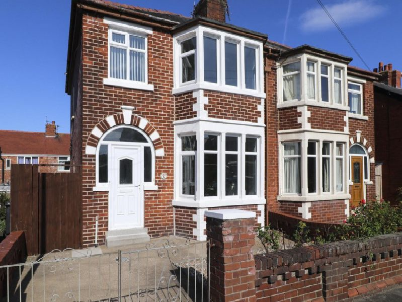This 3-bed semi-detahced in Blackpool is on the market for 145,000