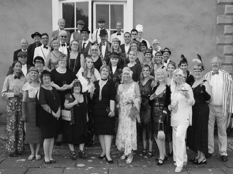 1920s murder mystery night at Thorpe Hall