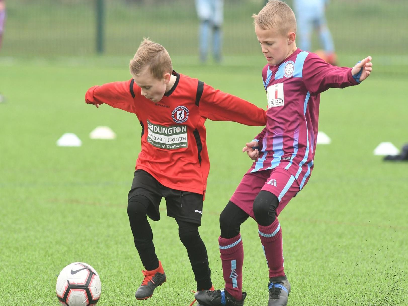 Burlington Jackdaws U8s v Tickton