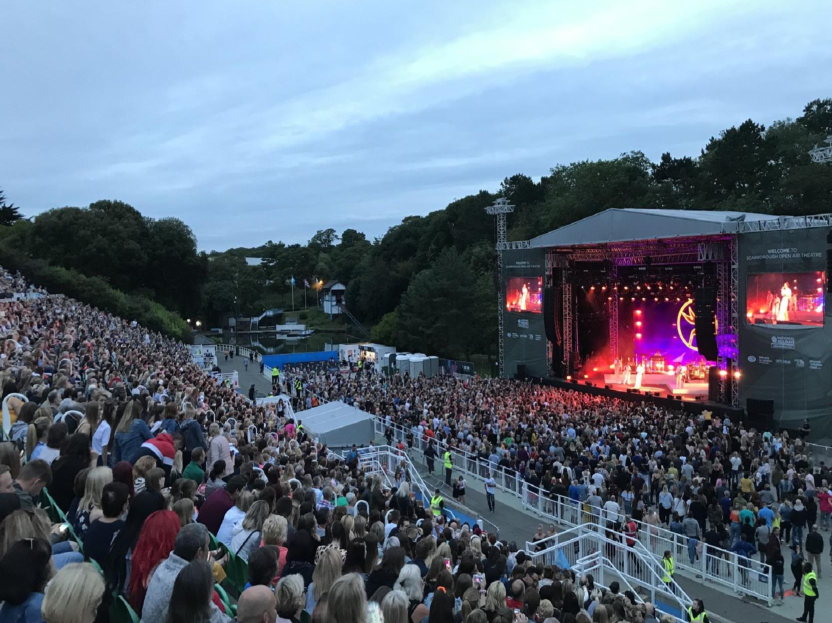 Jess Glynne at Scarborough Open Air Theatre. Photo by Steve Bambridge
