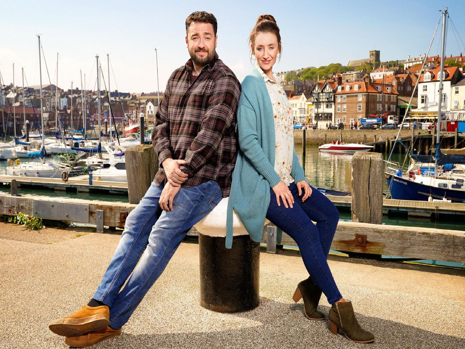 Mike (JASON MANFORD), Karen (CATHERINE TYLDESLEY)