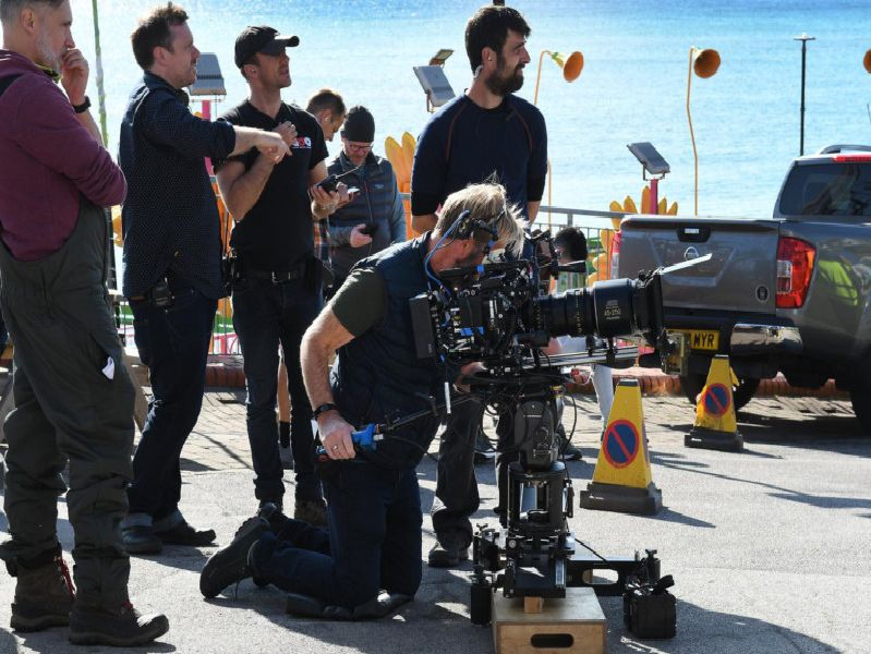 Filming has taken place in Bridlington for Last Tango in Halifax