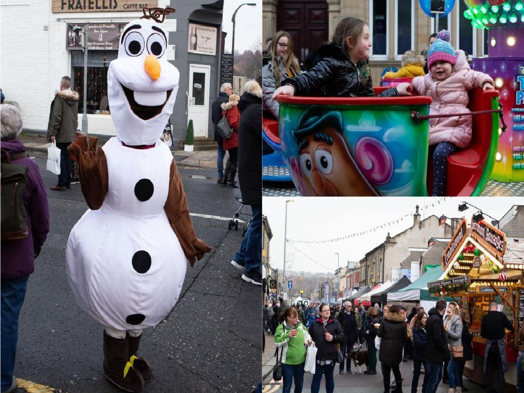 18 fabulously festive pictures from Brighouse Christmas Market and Lights Switch On