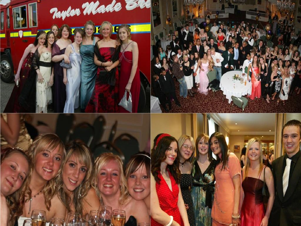 Prom night in Calderdale back in 2006