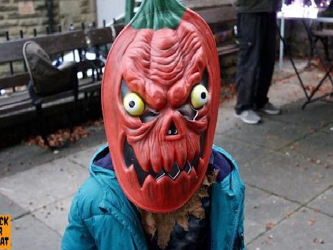 Zombies, ghouls and witches take over Clitheroe on spookiest night of the year