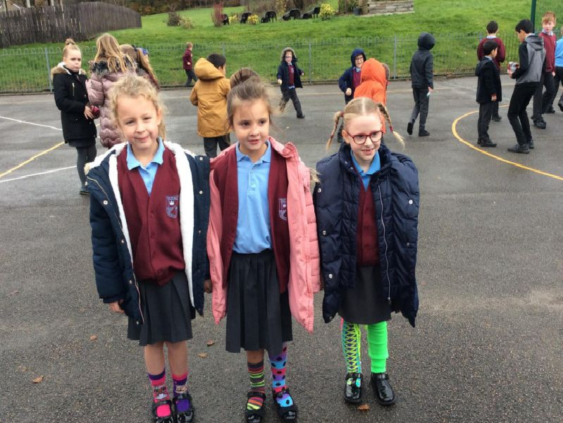 Children from St John's RC Primary School in Burnley staged a series of events to mark Anti-Bullying Week