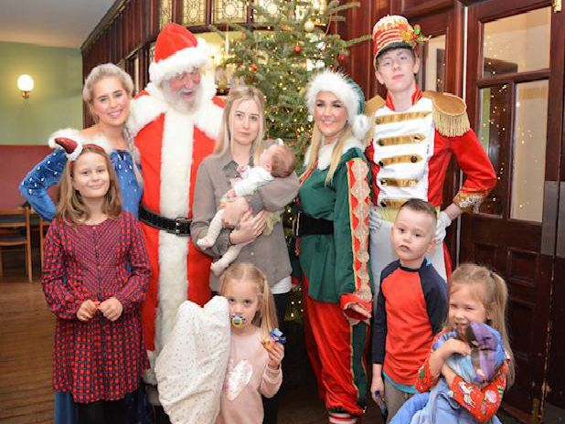 Young and old enjoyed Christmas in Colne
