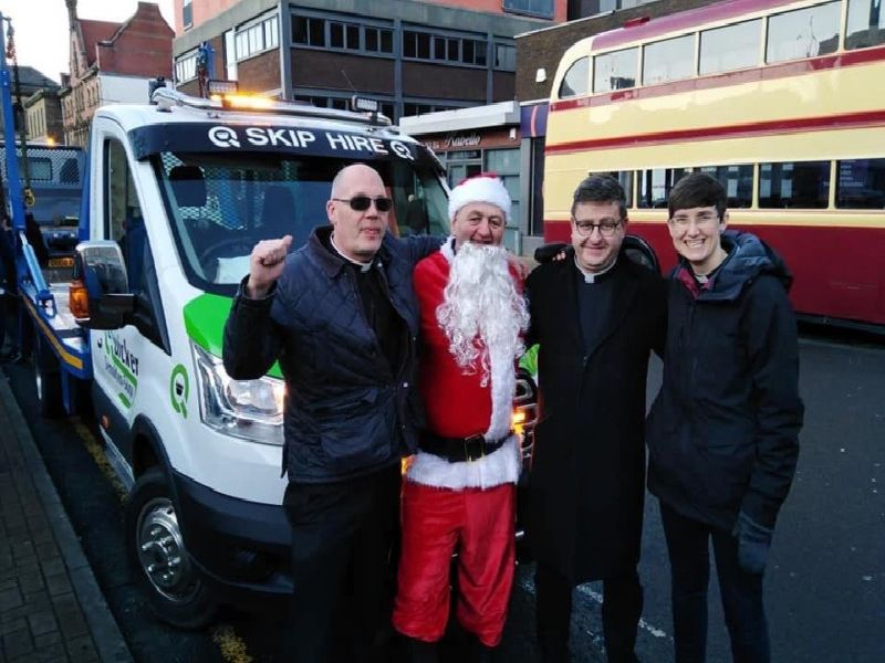 A Christmas Festival organised by the Church on the Street ministry in Burnley was a seasonal success.