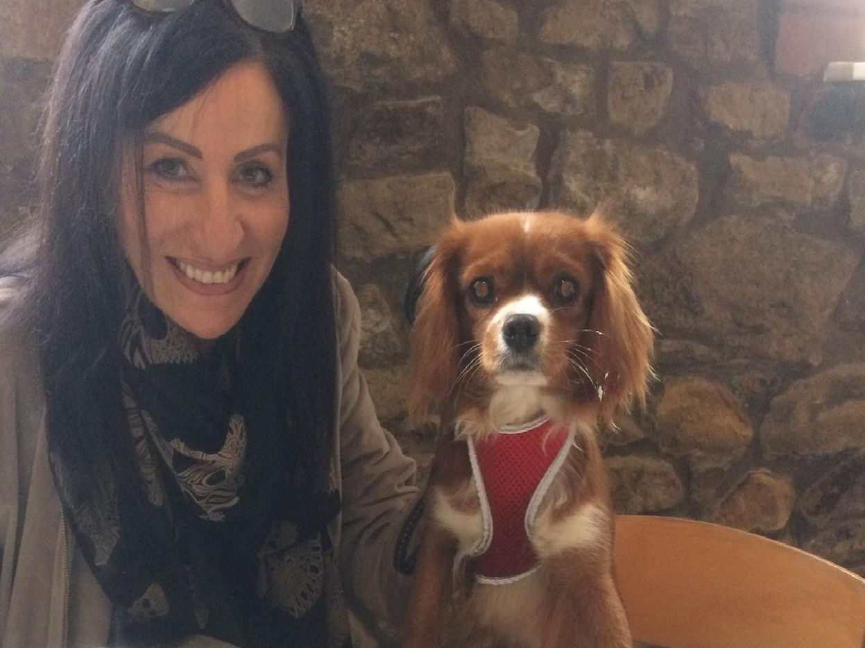 Nicola Hunt of Burnley with her dog, Pippa, an 18 month old Cavalier King Charles spaniel.
