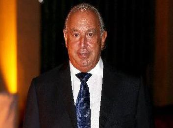 Topshop tycoon Sir Philip Green plans to close the stores as part of a rescue plan to save his business, which will put520 jobs under threat. Photo by Chris Jackson/Getty Images. (s)
