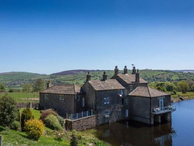 The stunning waterfront Whitemoor Estate