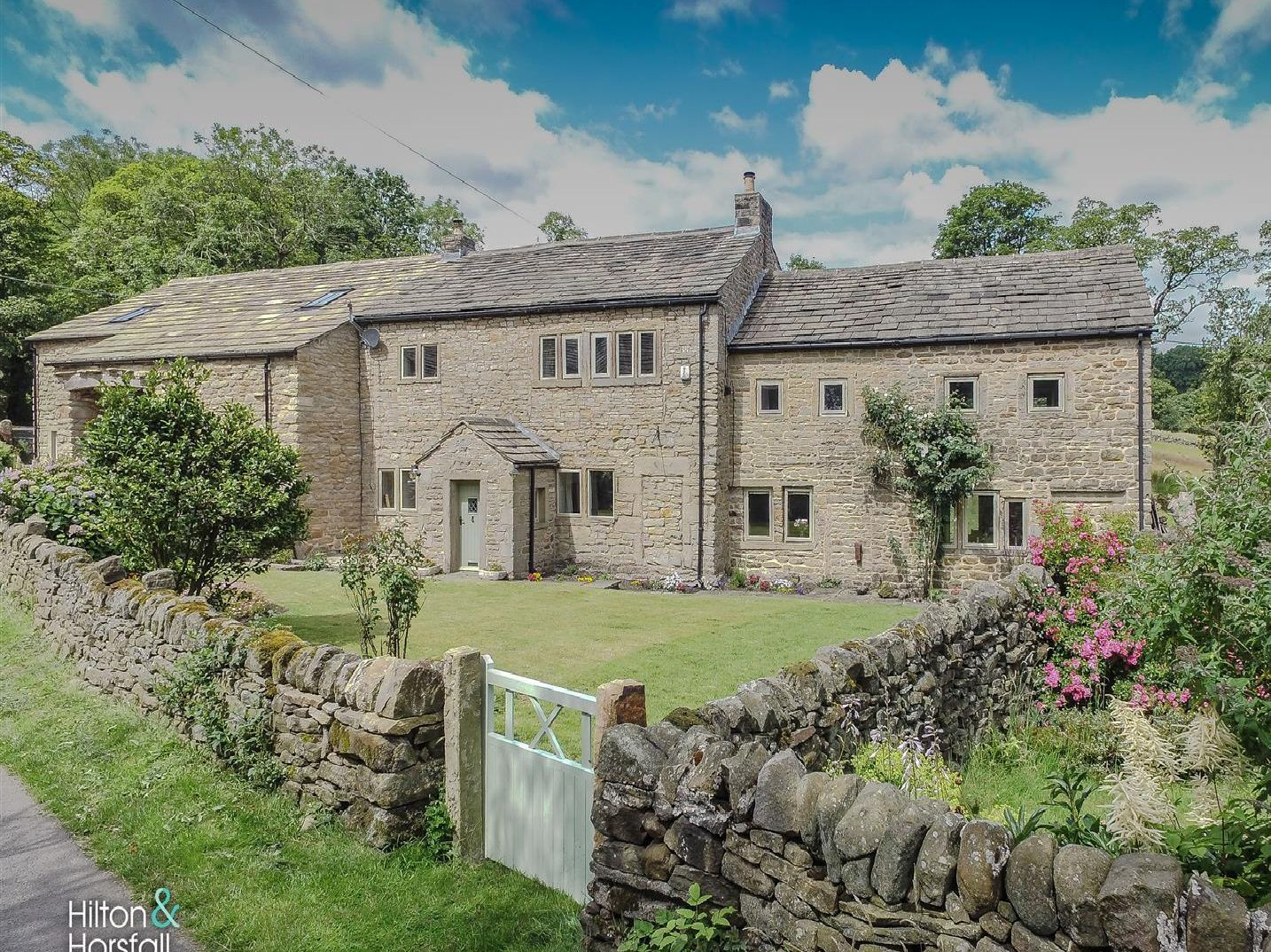 A charming four-bedroom conversion, Hey Fold Cottage is on the market withHilton & Horsfall for574,950. (copyright: Hilton & Horsfall)