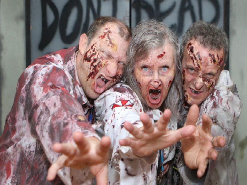 Zombies on the loose.