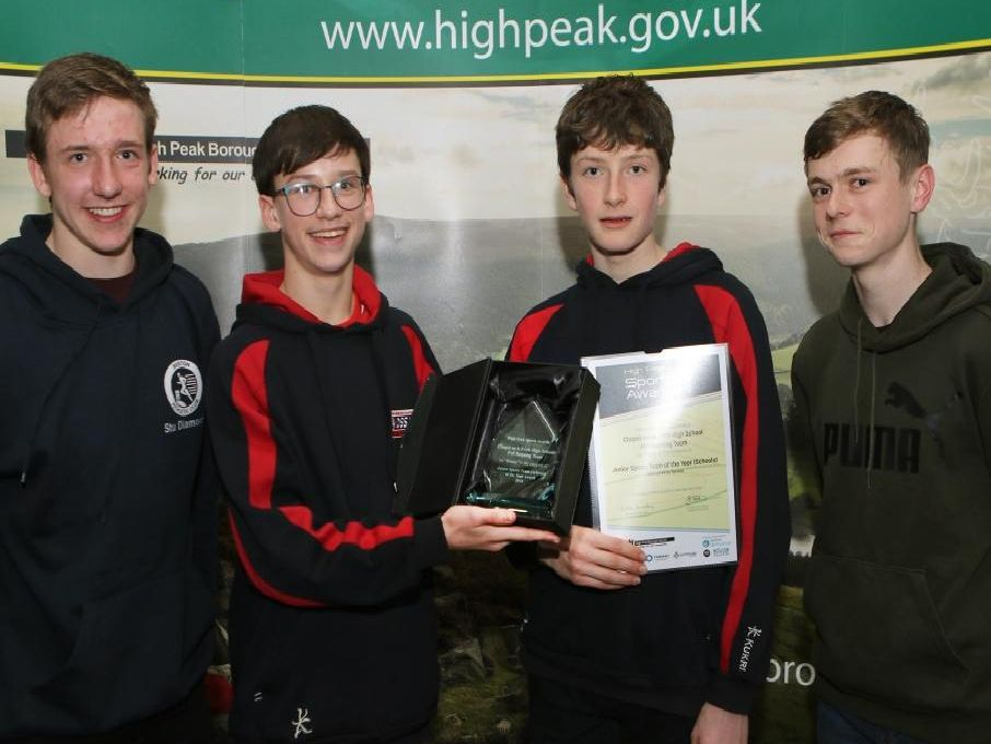 Chapel-en-le-Frith High Schools fell running team was named winners in the schools section after they finished third in the English Schools fell running championships.
