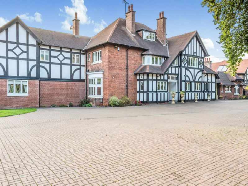 The property is on Sparken Hill in Worksop.