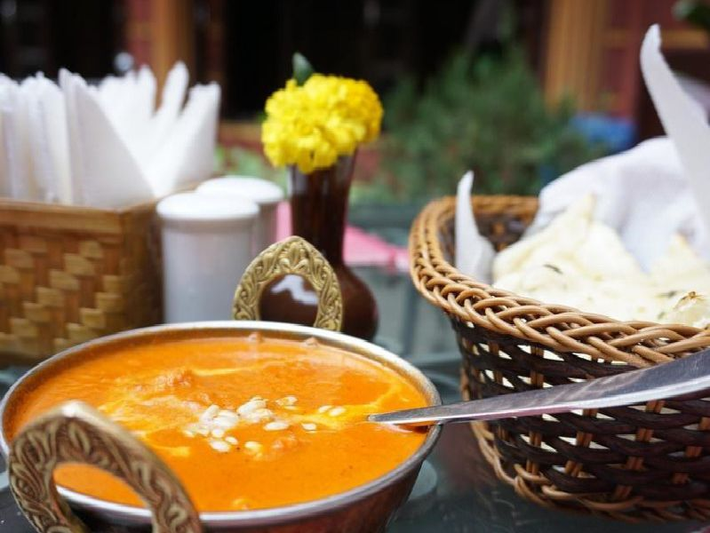 Best places for a curry in Mansfield