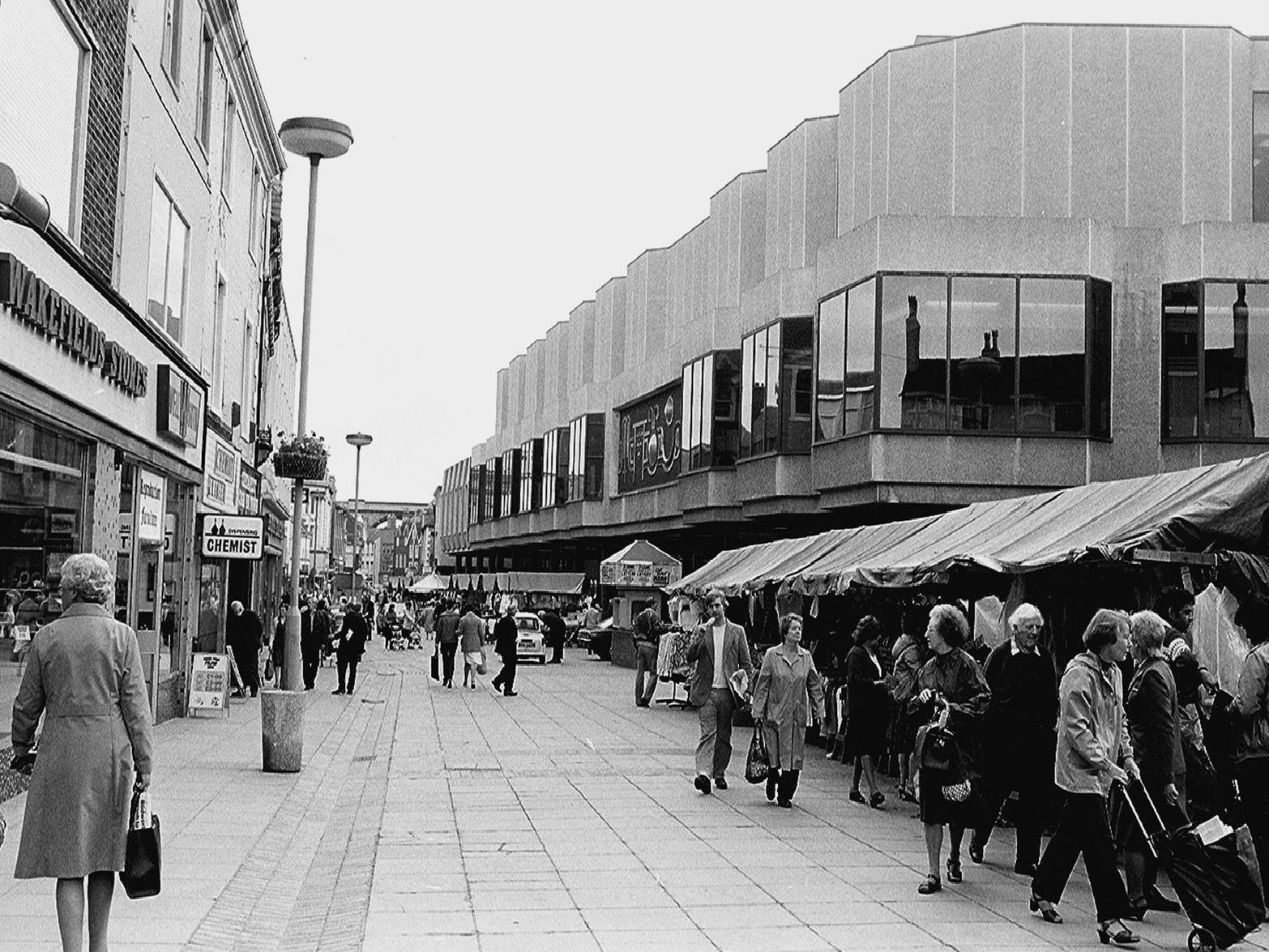 Mansfield then and now