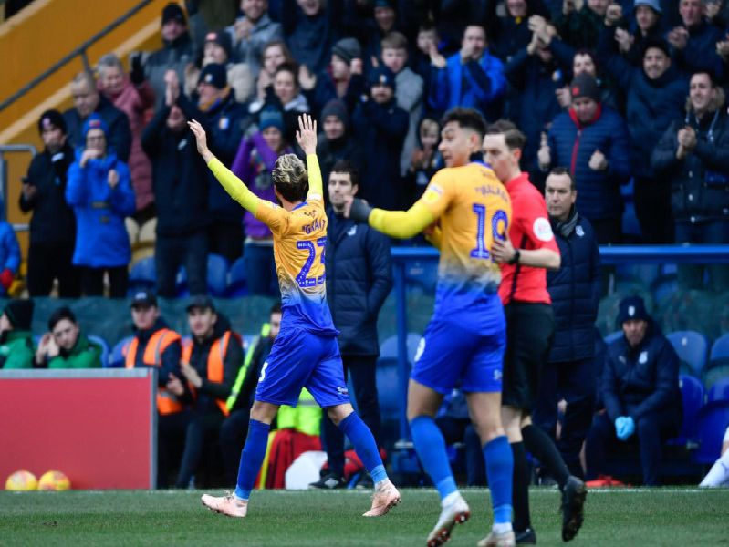 Mansfield Town 3 Tranmere Rovers 0