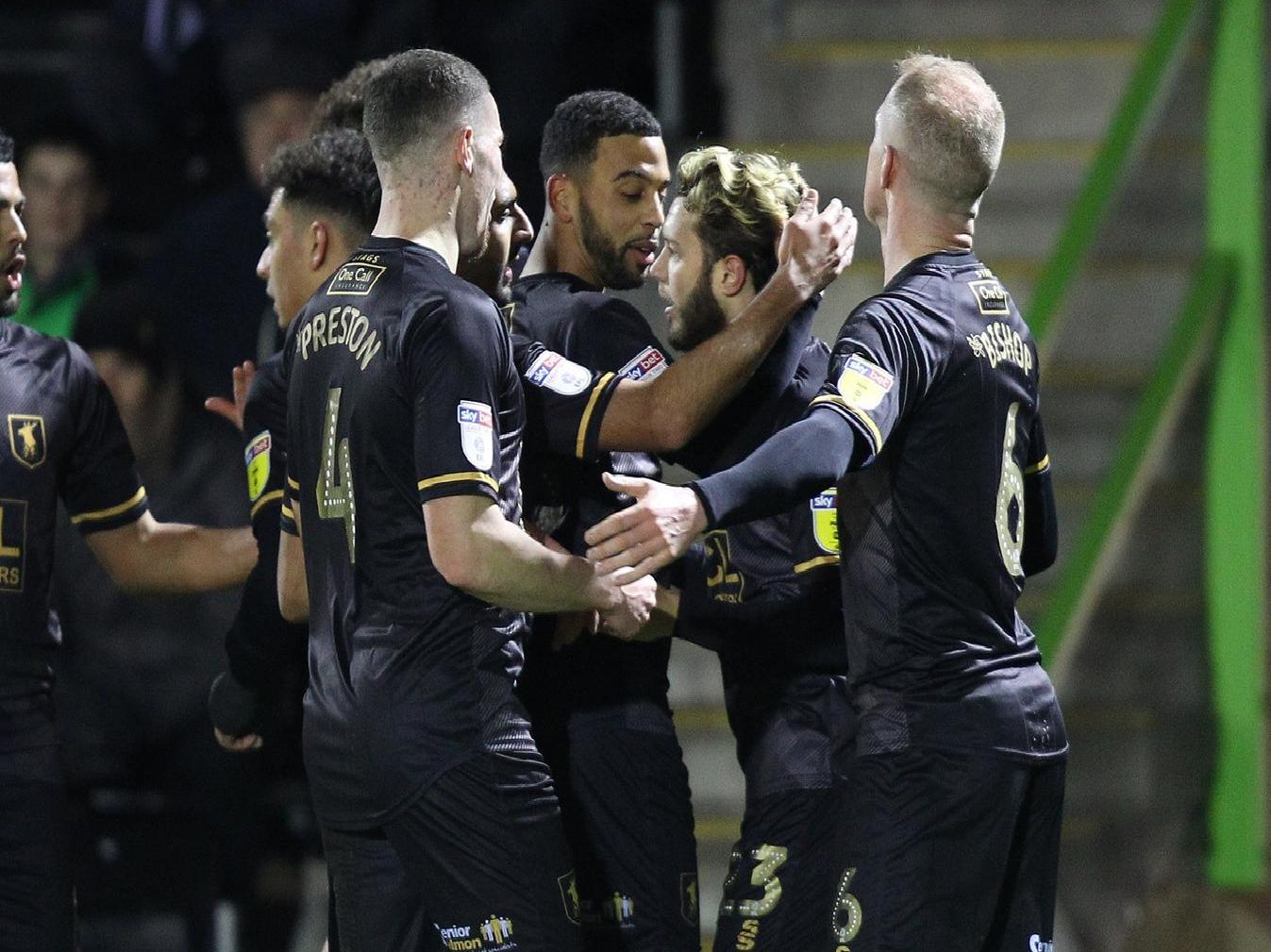 Forest Green Rovers 1 Mansfield Town 1
