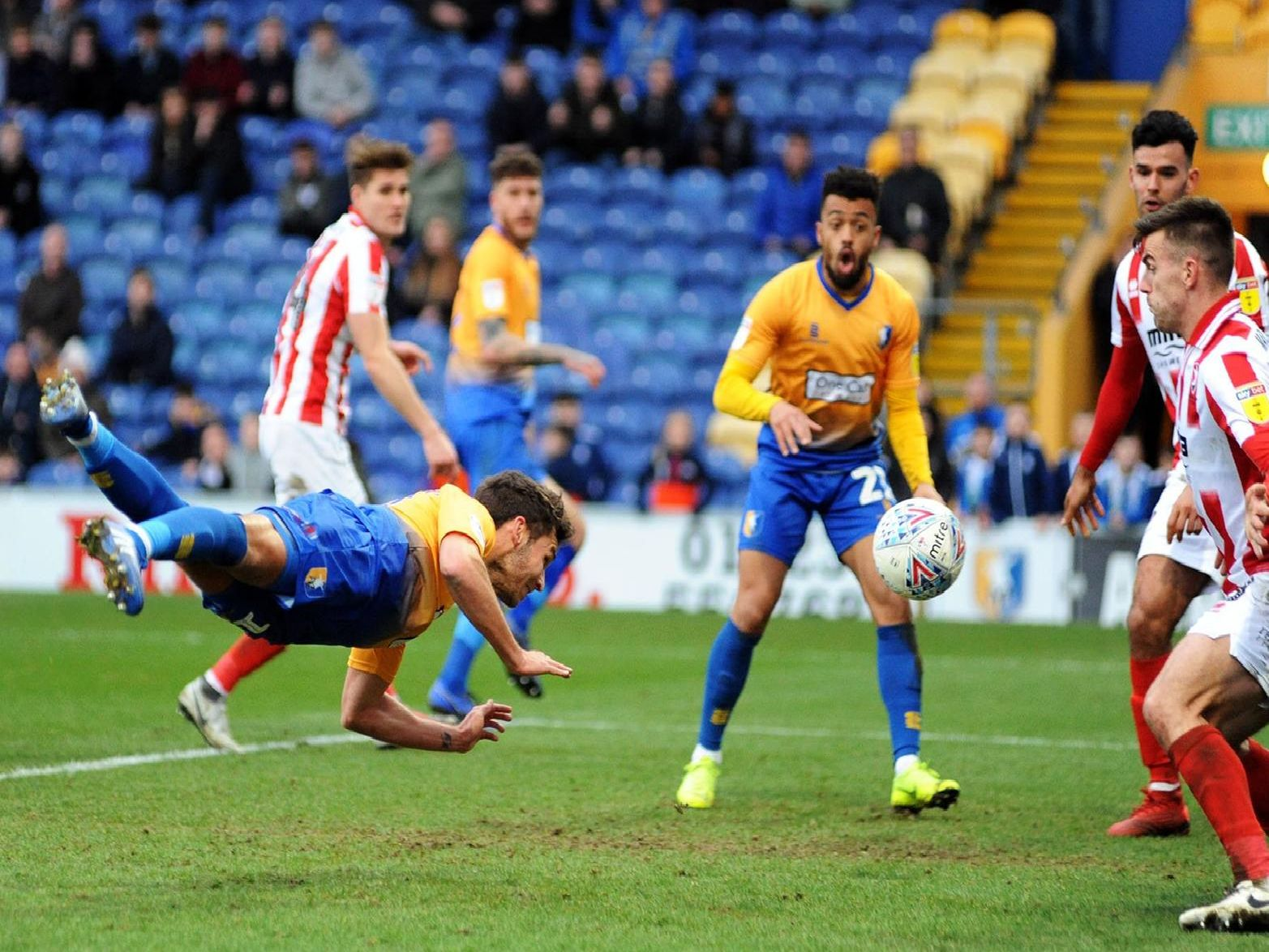Atkinson put Stags back in front