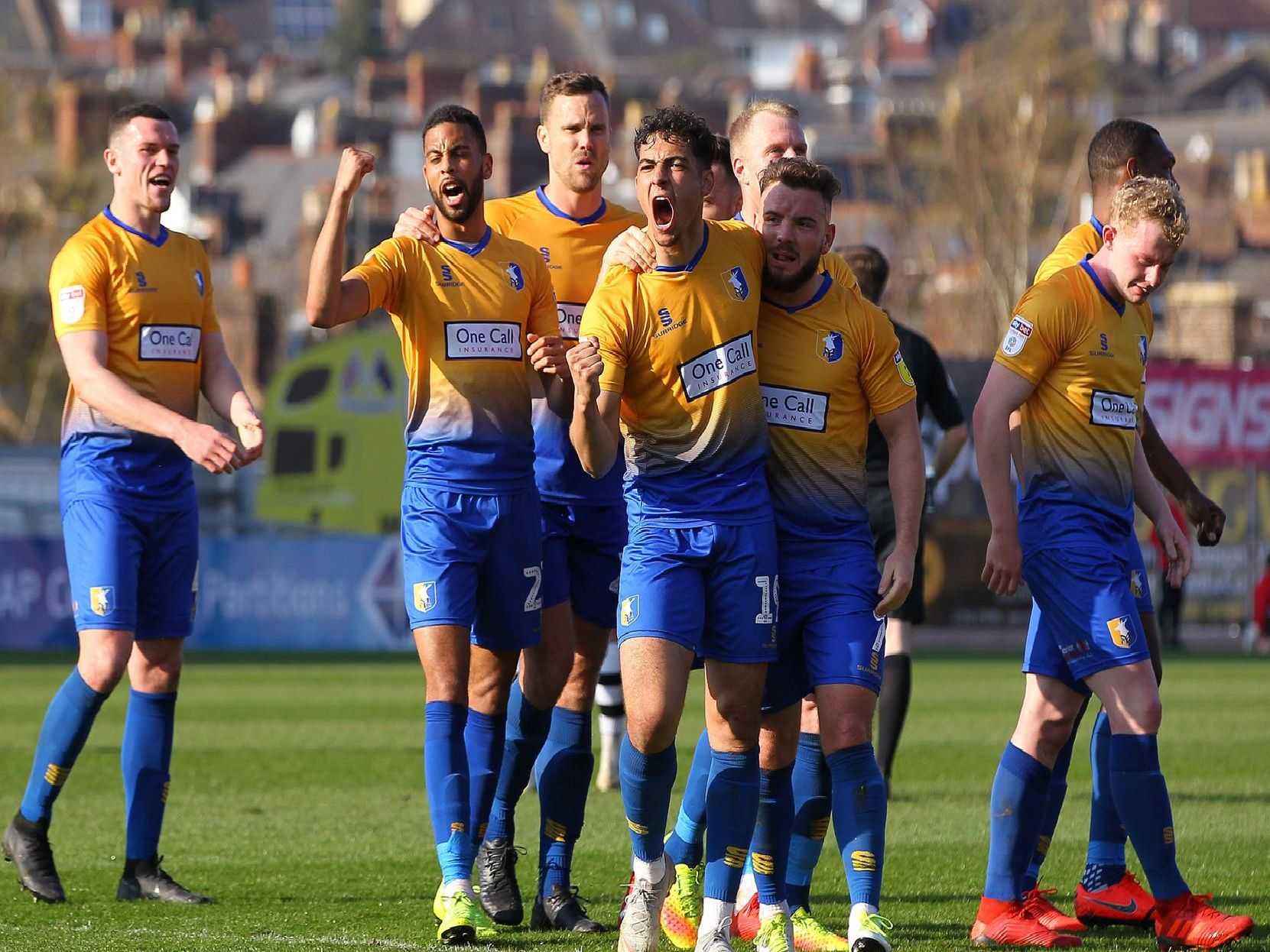 Stags win at Exeter