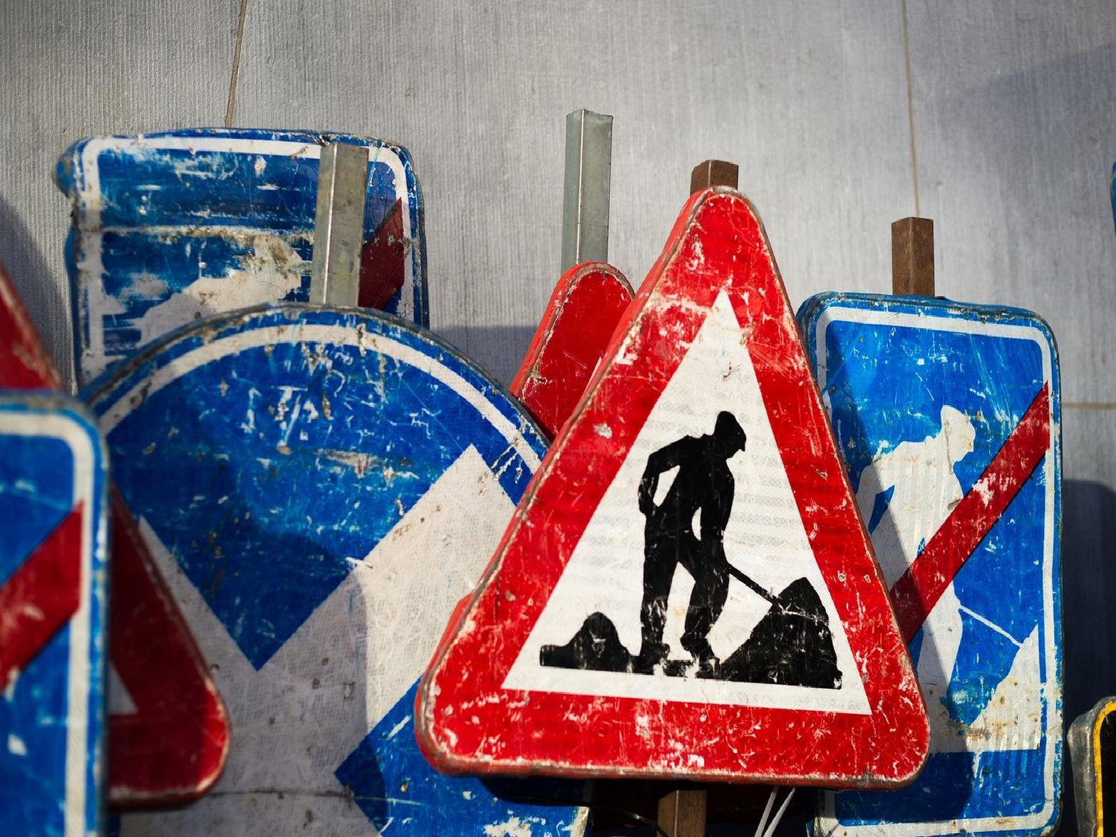 Here is just some of the roadworks taking place in your area.