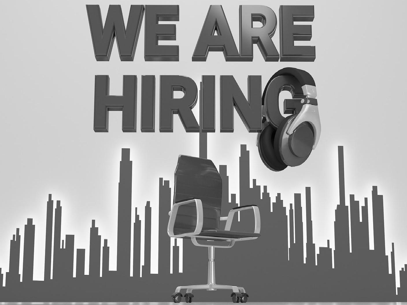 Firms are hiring now