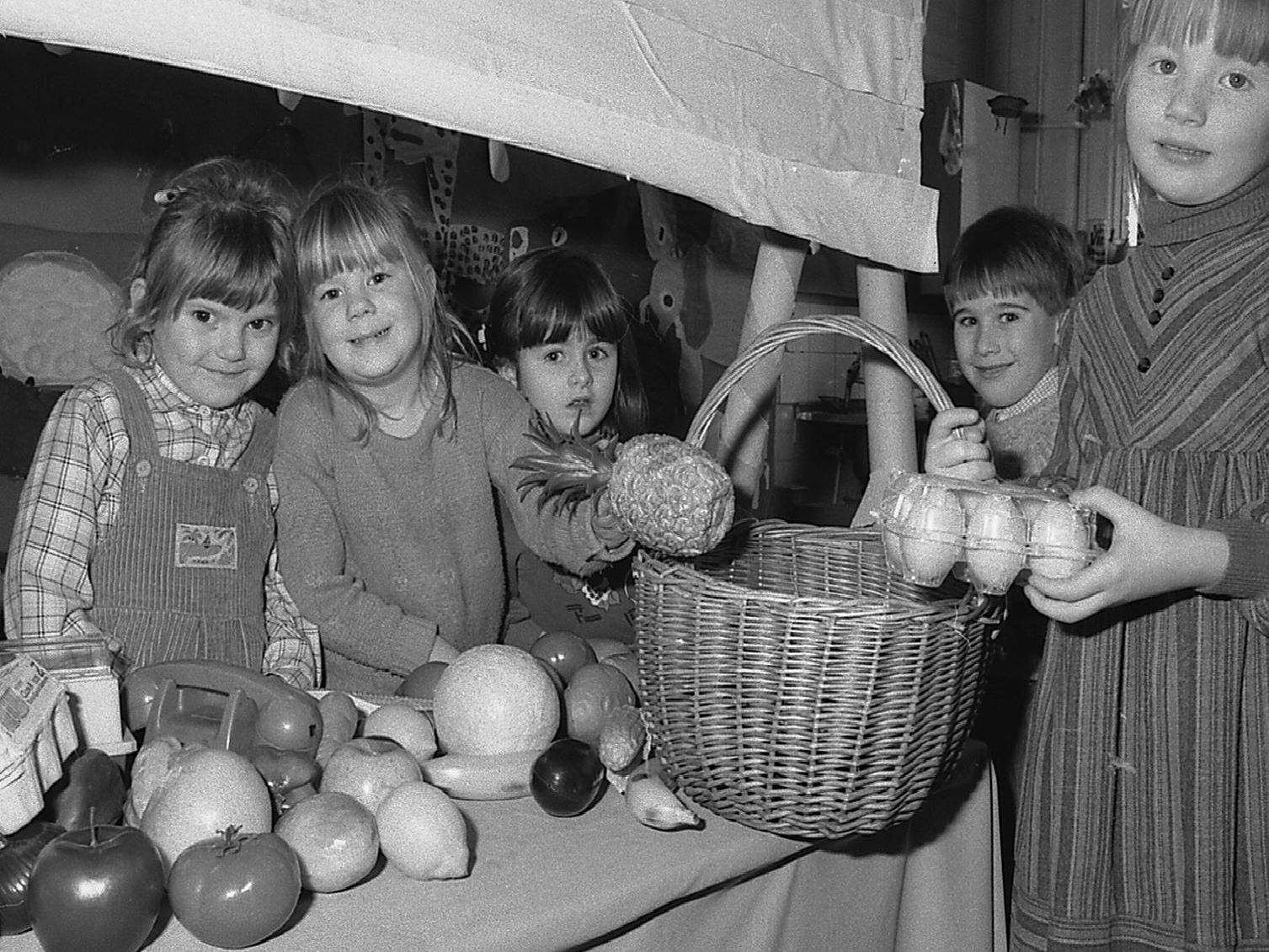 1989: These children are having fun at an open day at Sutton Road School in Mansfield. Did you go to this school?