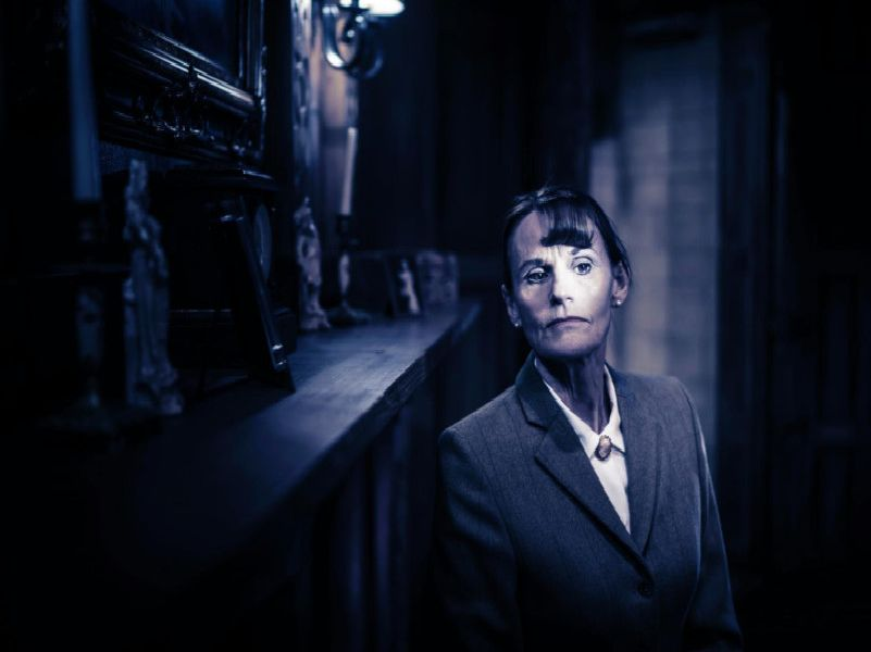 Gwyneth Strong in The Mousetrap which is running at Nottingham from June 17 to 22.