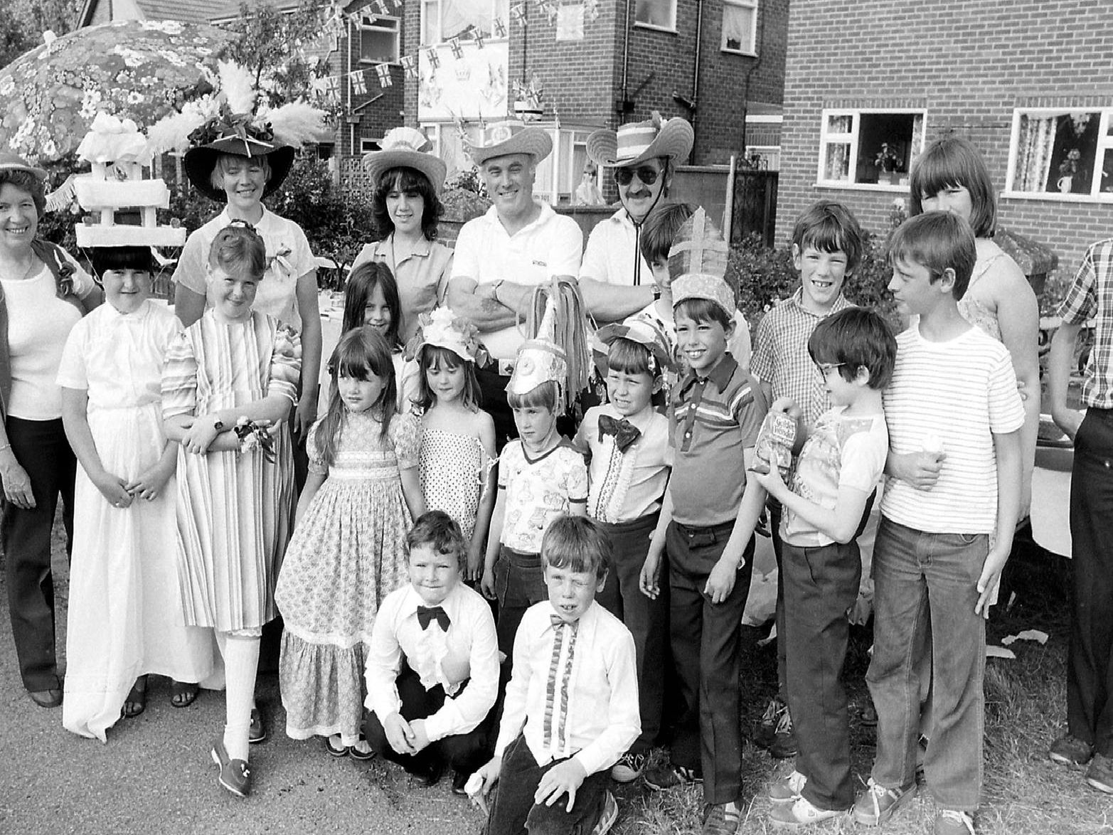 1981: Residents from Kirklington Road celebrate the marriage of Prince Charles and Diana with a good old fashioned street party. Are you on this picture?