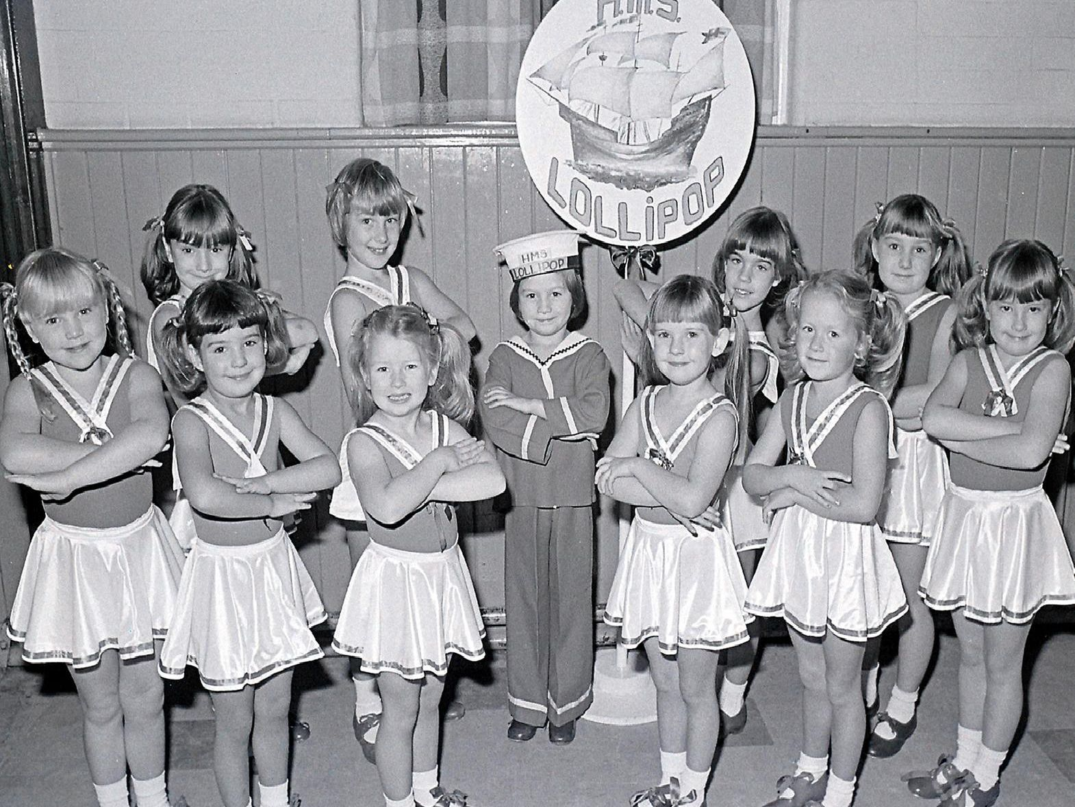 1981: A fabulous group shot taken at Edwinstowes Antoinette School of Dancing show. Did you take part in this?