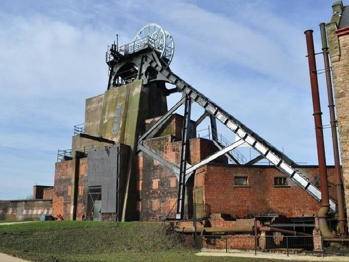 One of our areas oldest collieries, Pleasley was sunk in the 1870s by a company owned by William Edward Nightingale, father of famous nurse Florence Nightingale. 'Now it is a museum around the historic headstocks, with a nature reserve.