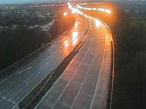 The M61 at junction 9 (Image: Highways England)